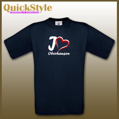 I love Oberhausen / City Shirt / Motiv 1