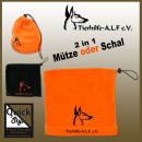 A.L.F. Fleece Mütze/Schal 2 in 1