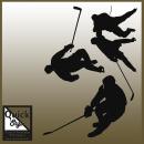 Eishockey Aufkleber Set Player
