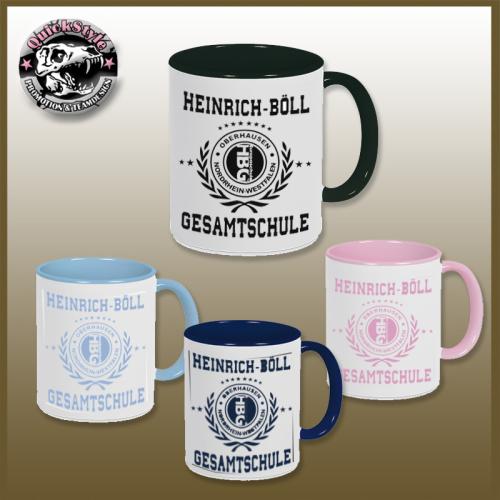 """Tasse """"Heinrich-Böll-Gesamtschule"""""""