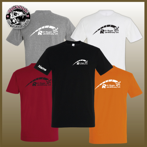 "T-Shirt Unisex ""RC-Team RuhrStörung"" inkl. Name"