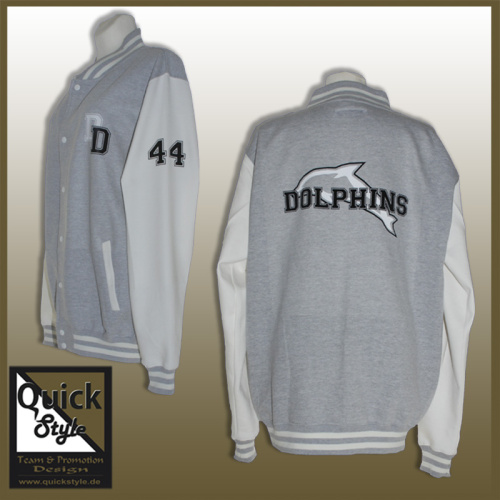 "College Jacke ""Duisburg Dolphins"""