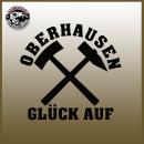 "Autoaufkleber ""Glück Auf Oberhausen"""