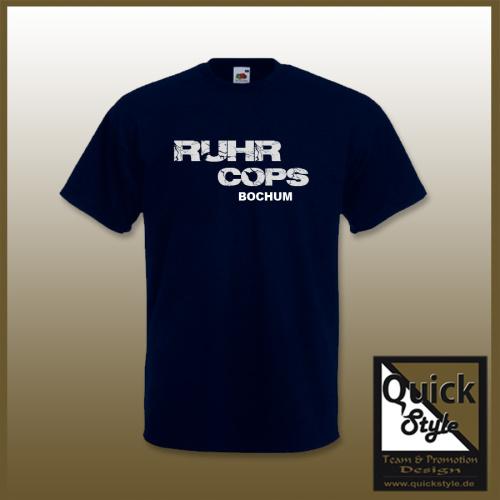 T-Shirt Ruhr Cops Bochum