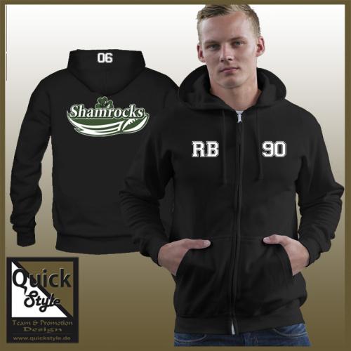 Sweatjacke Mülheim Shamrocks