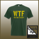 Hockey Shirt - WTF / Win the Faceoff
