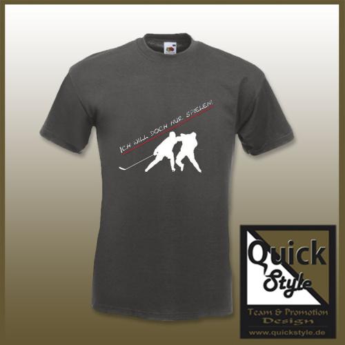 Hockey-Shirt - Ich will doch nur spielen
