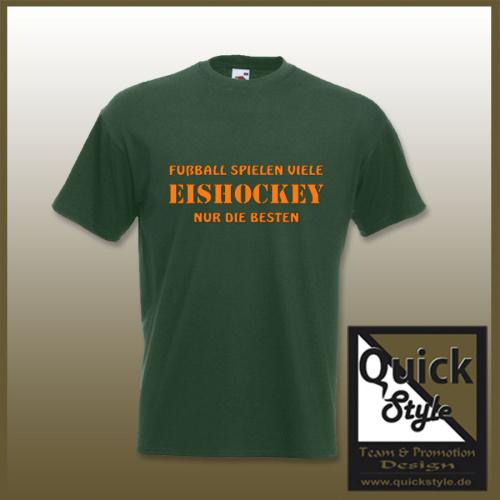 Hockey-Shirt - Eishockey ... nur die Besten