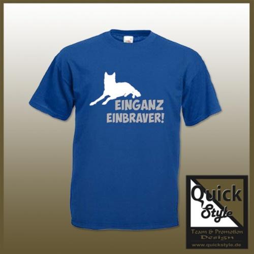"""Hundefreunde T-Shirt - """"Einganz Einbraver"""""""