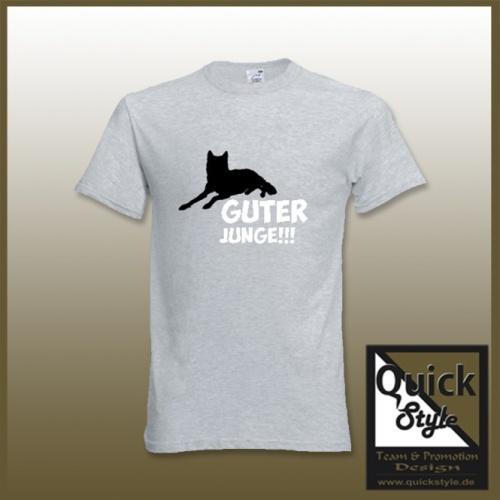 """Hundefreunde T-Shirt - """"Guter Junge"""""""