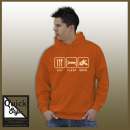 EAT SLEEP SAVE - Eishockey Hoodie
