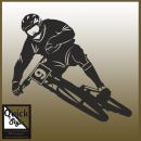 "Wandtattoo ""Mountainbike"""