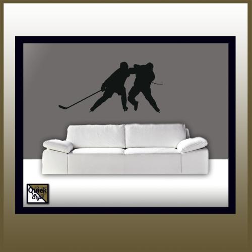 "Eishockey Wandtattoo ""Hockeyfight"""