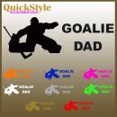 Hockey Goalie-Mom / Goalie-Dad Autoaufkleber