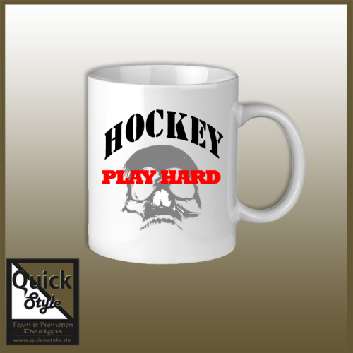 Eishockey Tasse Play Hard