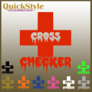 Crosschecker Car Decal