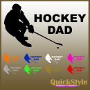 Hockey Mom / Hockey-Dad Autoaufkleber